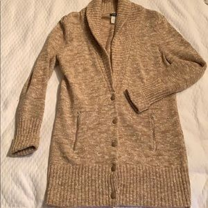 J Crew Button Down Sweater
